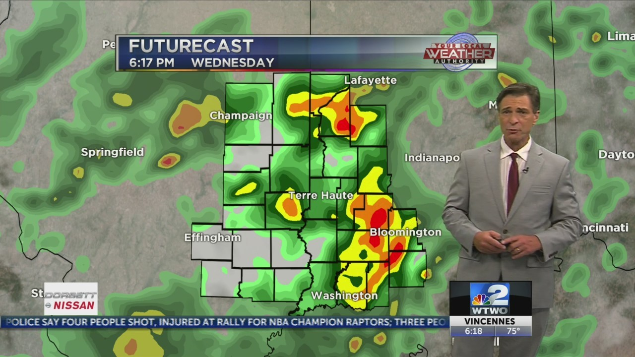 More storms on the way