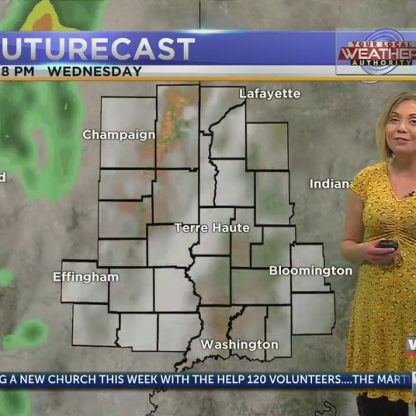 Mostly sunny, pleasant afternoon