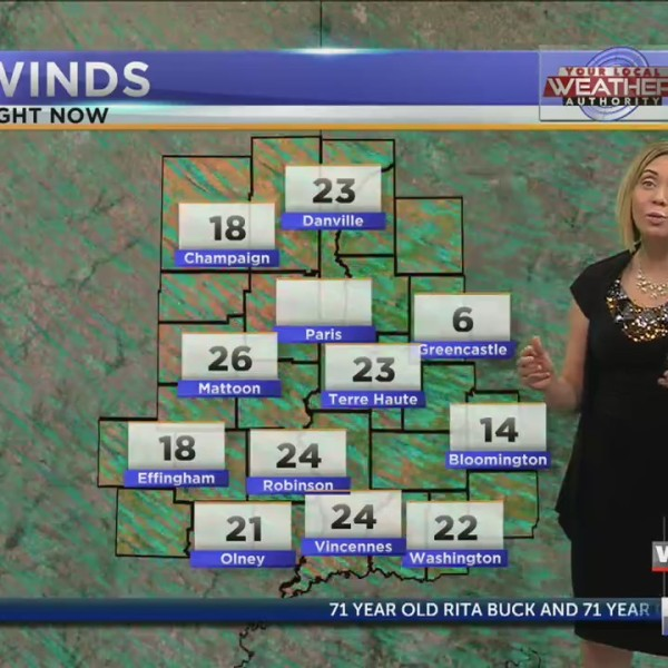 Partly sunny, windy afternoon