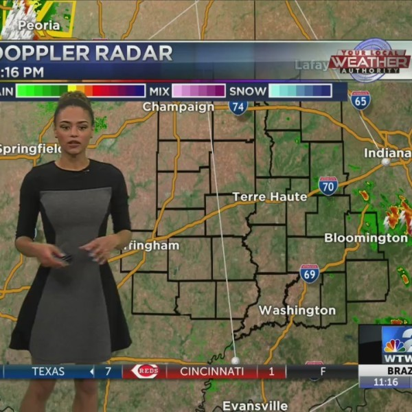 Possible severe weather overnight