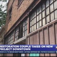 Restoration of 119 building downtown