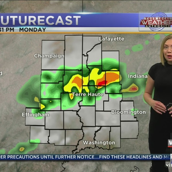 Scattered showers and thunderstorms returning this afternoon