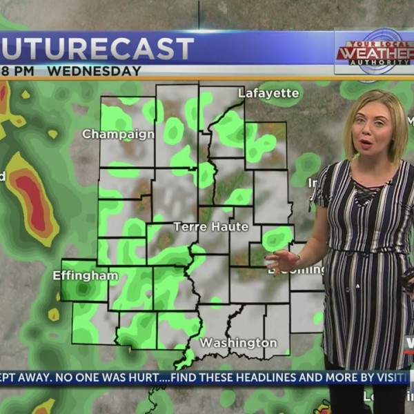 Spotty showers this afternoon