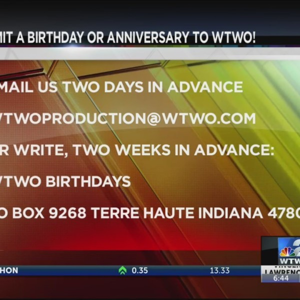 WTWO Today BIRTHDAYS AND ANNIVERSARIES 6-18-19