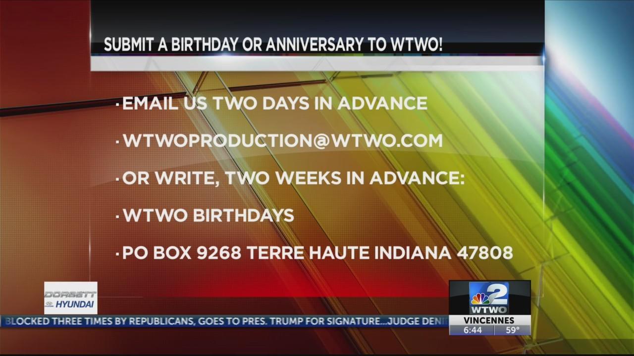 WTWO Today Birthdays 6-4-19