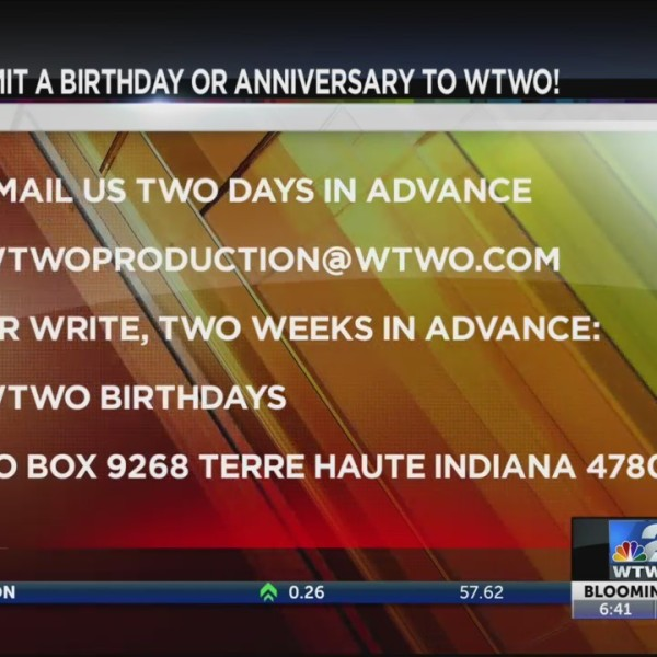 WTWO Today Birthdays & Anniversaries 6/14/2019