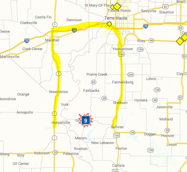 Road closure along Indiana state line creates long detours ... on indiana highway under construction, indiana weather map, indianapolis indiana city map, indiana highway construction zones, indiana travel advisory map, indiana snow emergency map, indiana trucking map, in road map, indiana hospitals map, interstate 69 indiana route map, northern indiana counties map, indiana industrial map, indiana district map, indiana farming map, indiana golf courses map, northwest dyer indiana map, i-69 martinsville indiana map, indiana on a map, indiana state map, indiana highway map,