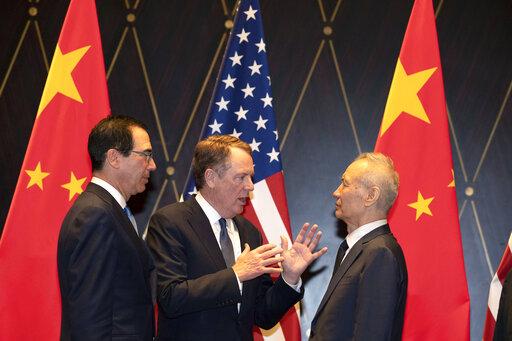 Robert Lighthizer, Liu He, Steven Mnuchin