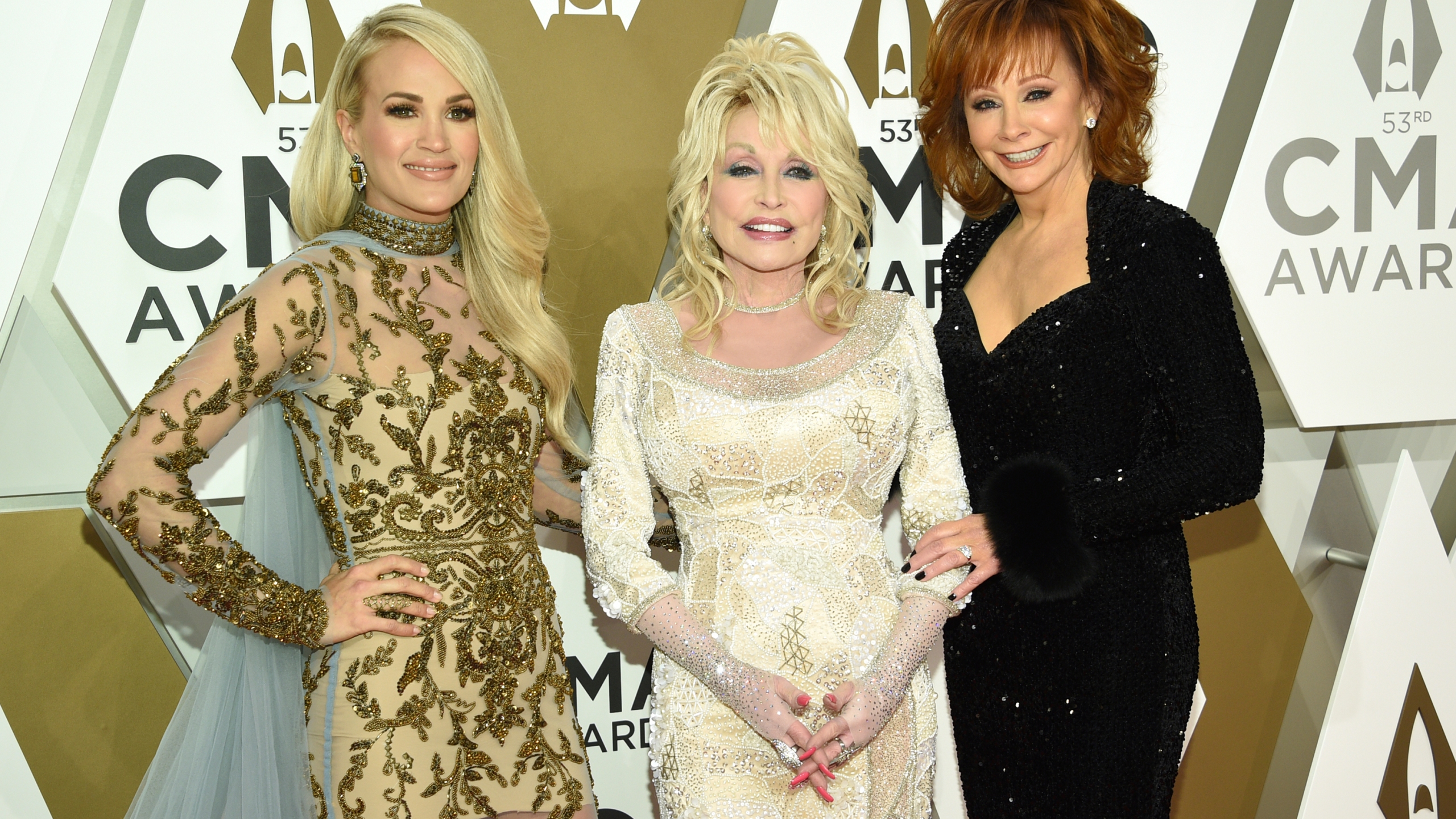 Carrie Underwood, Dolly Parton, Reba McEntire