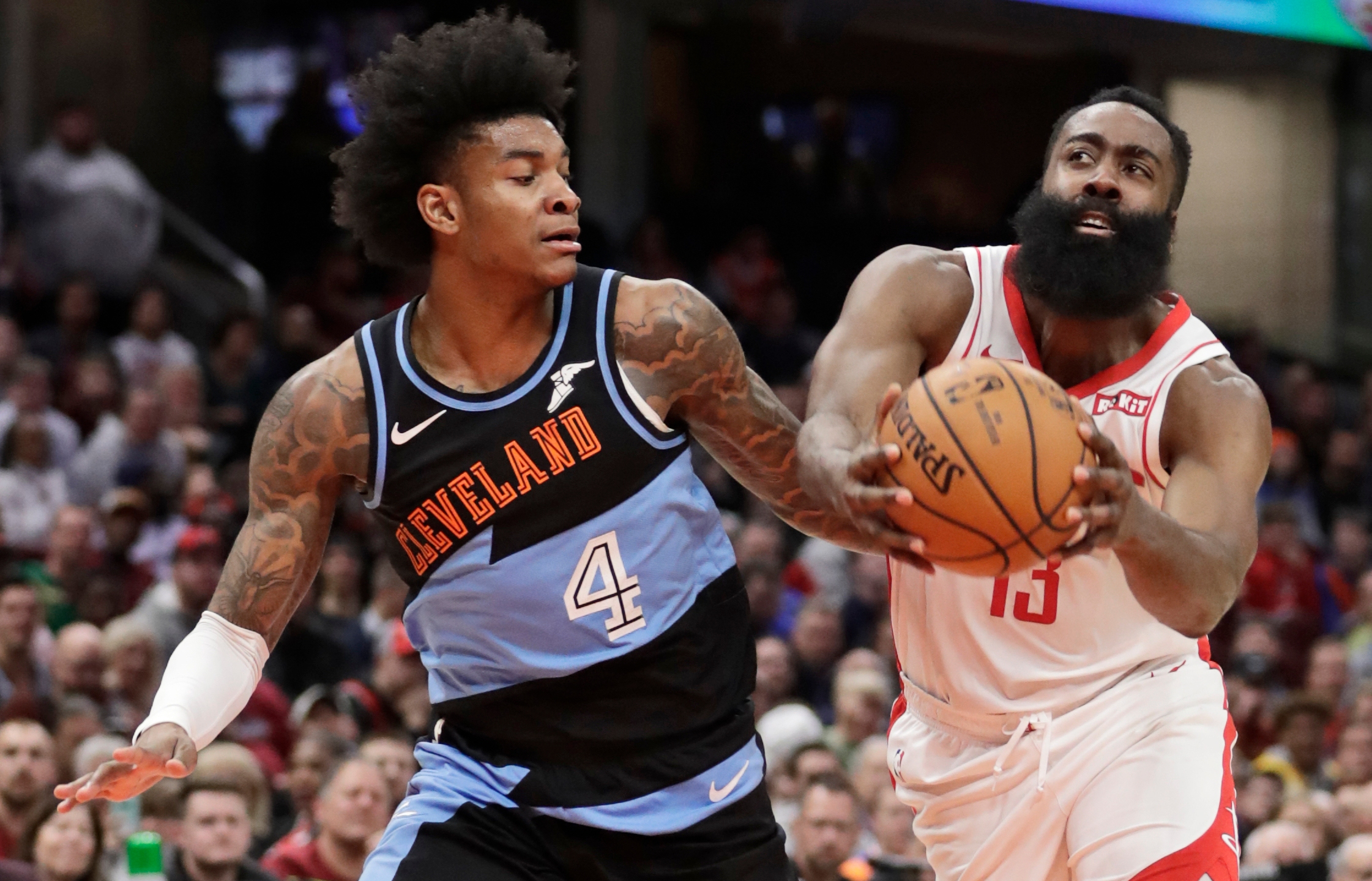 James Harden, Kevin Porter Jr.