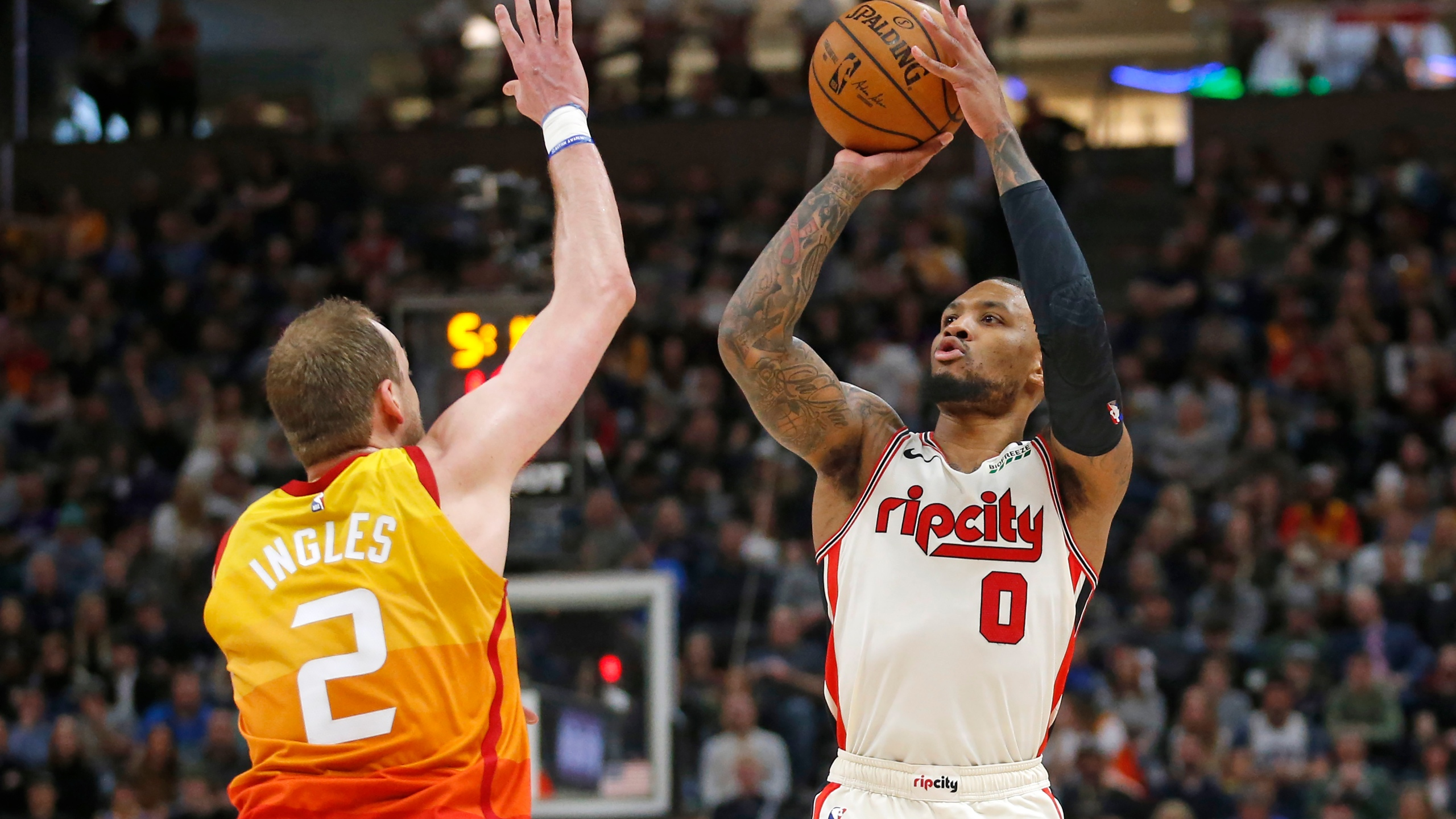 Damian Lillard, Joe Ingles