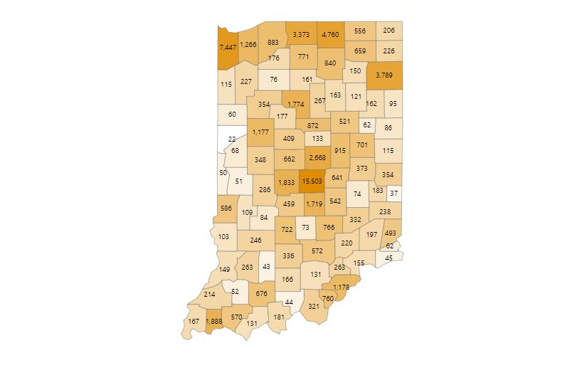 Covid 19 In Indiana State Sees Second Day Of Record Breaking Numbers Mywabashvalley Com