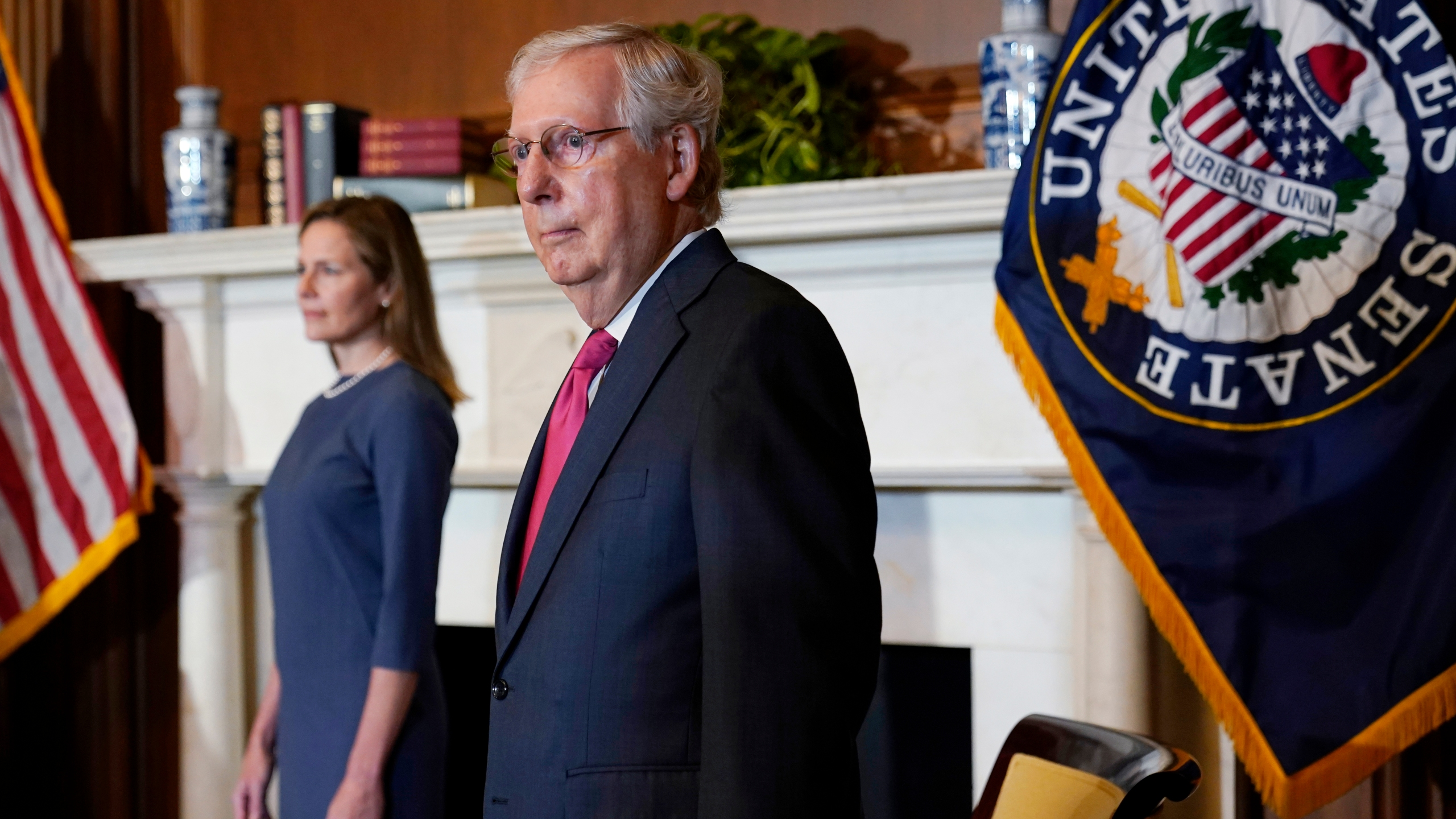 Mitch McConnell, Amy Coney Barrett