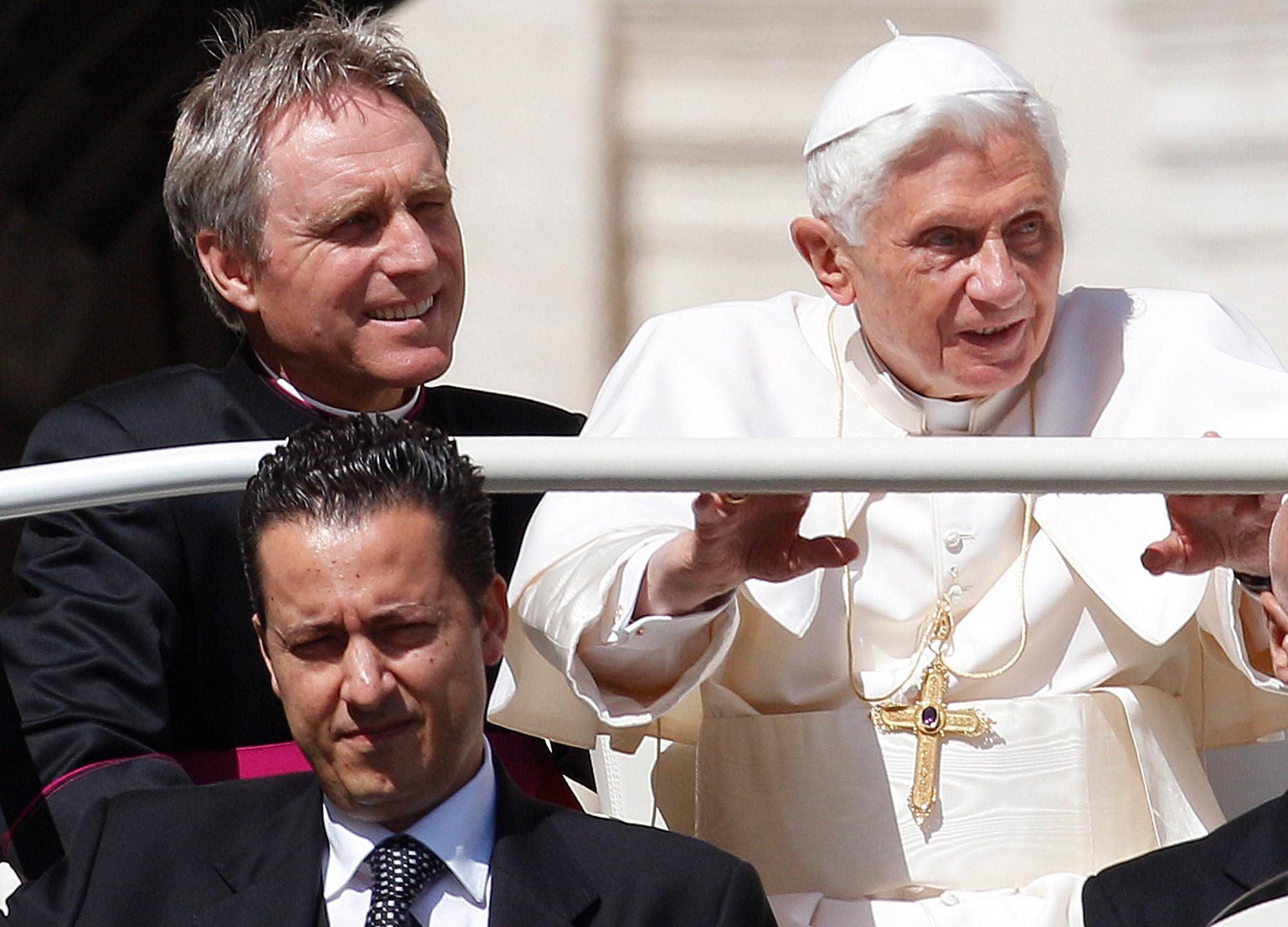 Pope Benedict XVI, Georg Gaenswein, Paolo Gabriele