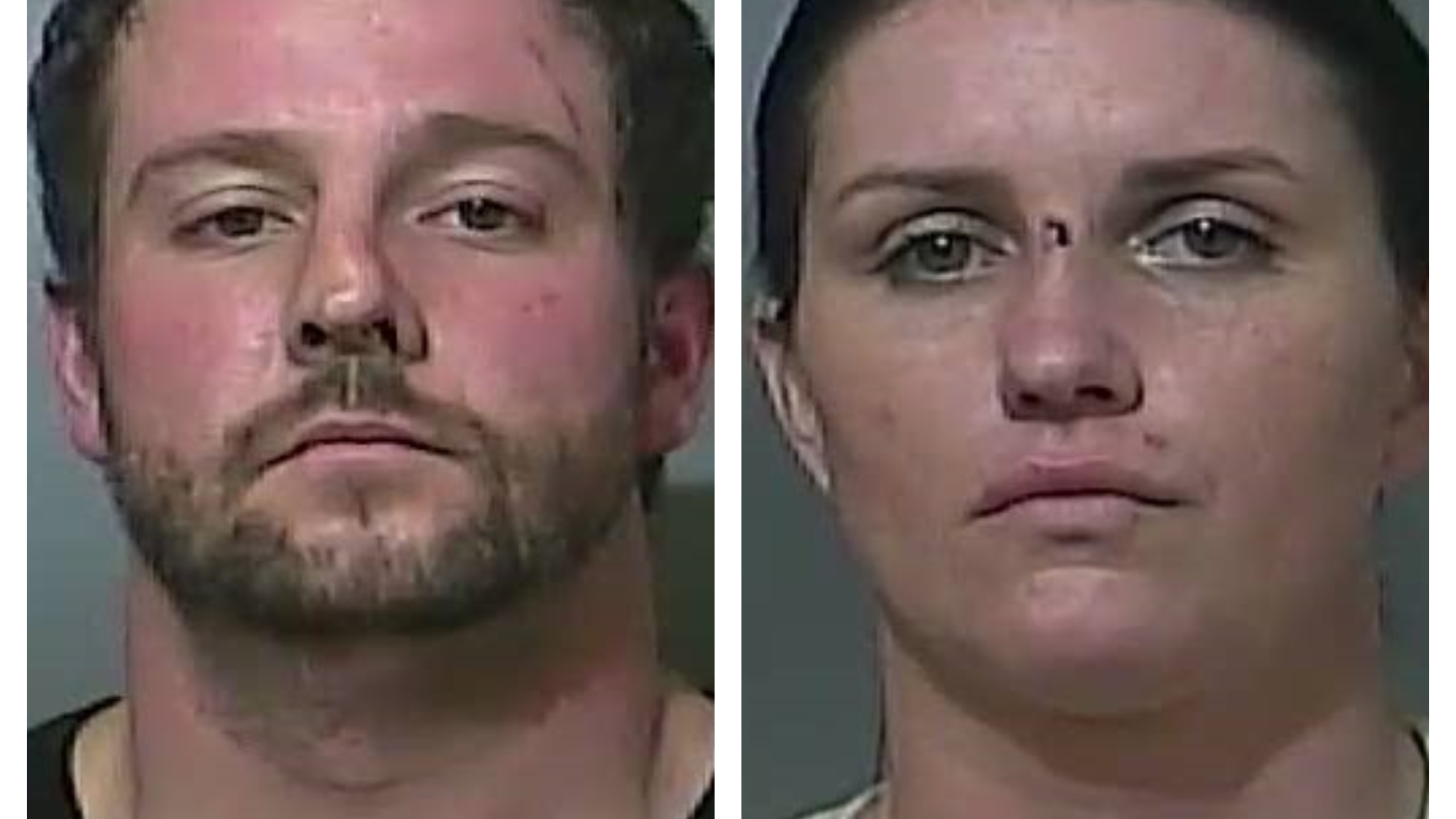 Matthew Beeler, Morgan Colbert, from Vigo County Jail