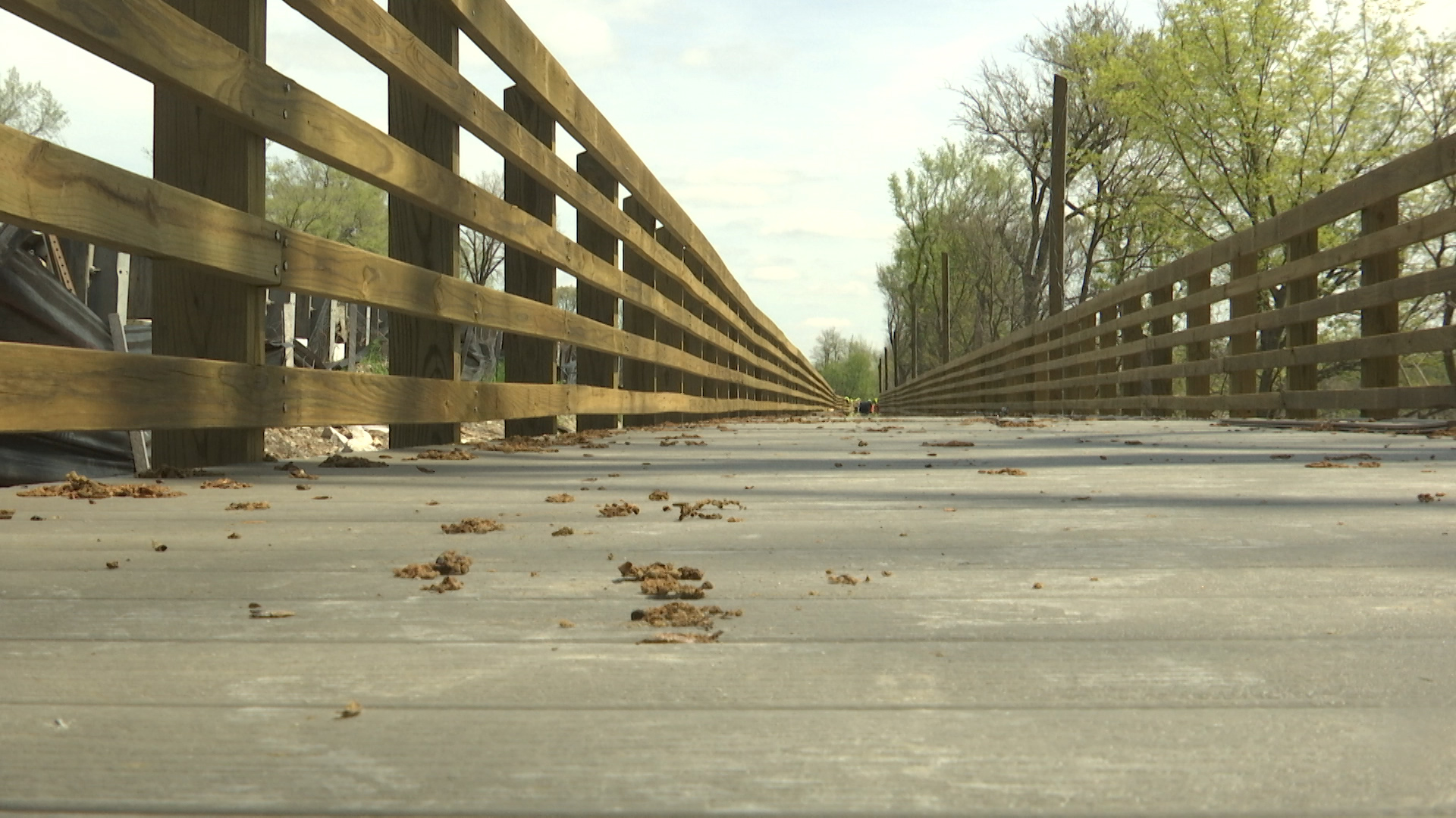 West Terre Haute walkway to be completed this summer, ahead of schedule